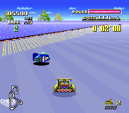 F-Zero snes review race1
