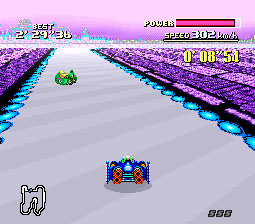 F-Zero snes review race2