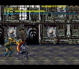 snes review alien vs predator screen 2